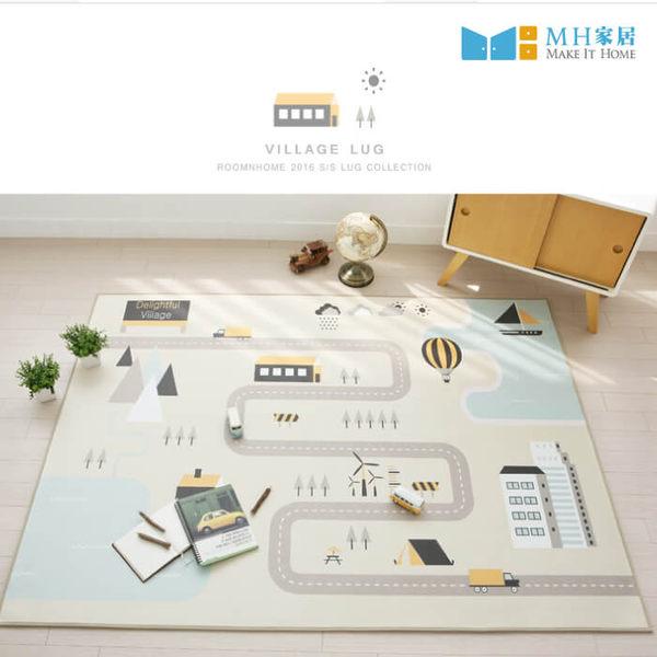 地毯 地墊 遊戲墊 韓國製方形大地毯(道路款) 150x200 MH家居