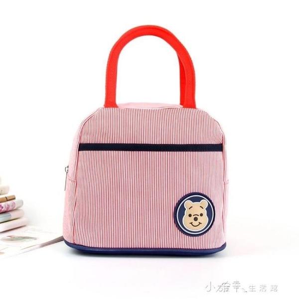 小包卡通便當包小學生飯盒袋帆布帶飯包午餐上班手拎布包手提袋子 小確幸生活館