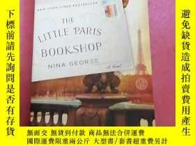 二手書博民逛書店THE罕見LITTLE PARIS BOOK SHOP NINA