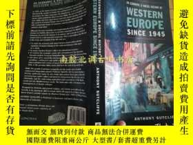 二手書博民逛書店AN罕見ECONOMIC AND SOCIAL HISTORY OF WESTERN EUROPE SINCE 1