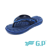 G.P(男女共用款)中性休閒舒適夾腳拖鞋-寶藍(另有紅黑、綠色)