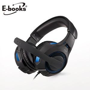 E-books S94 雷霆頭戴耳機麥克風黑