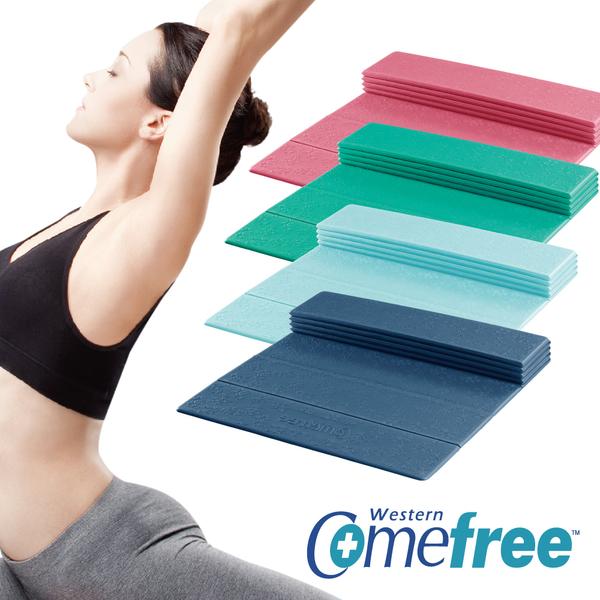 羽量級TPE摺疊瑜珈墊