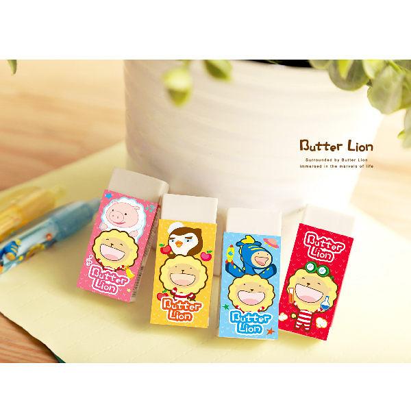 奶油獅環保橡皮擦-森林篇(隨機出貨)