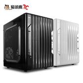 【貓頭鷹3C】aibo 獵豹 USB3.0 一大(四小隱藏) 電腦機殼-黑色/白色 [CASE-0240]