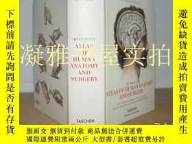 二手書博民逛書店Atlas罕見of Human Anatomy and Surg