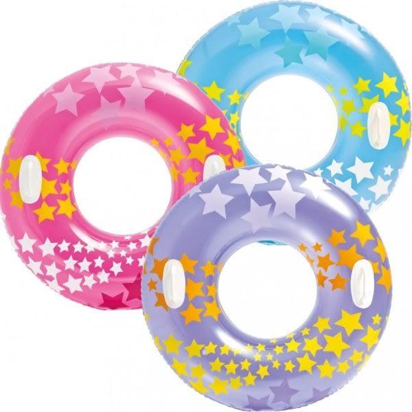 [衣林時尚] INTEX 36 吋 夢幻把手游泳圈(91CM 顏色隨機出) 建議10歲以上 59256