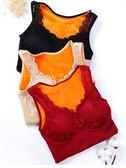 保暖背心女加厚加絨塑身托胸秋冬季緊身棉保暖內衣打底衫 生活故事