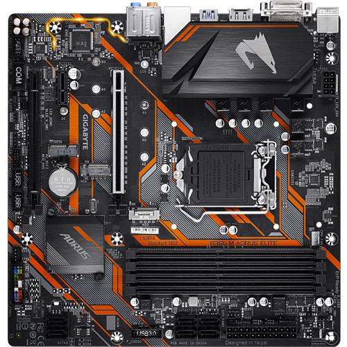 GIGABYTE 技嘉 B365M AORUS ELITE LGA1151腳位 主機板
