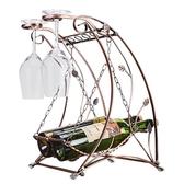 創意秋千紅酒架歐式紅酒杯架葡萄酒架