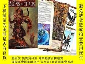 二手書博民逛書店Warhammer:罕見Daemons of Chaos 混沌惡