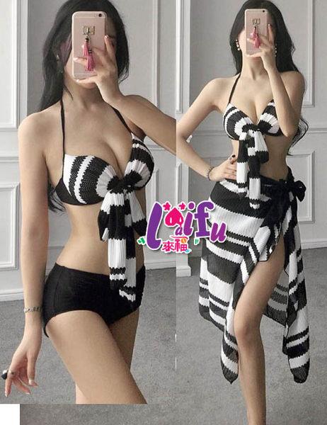 ★草魚妹★C664泳衣酷奇三件式泳衣游泳衣泳裝比基尼有加大泳衣,售價950元