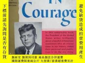 二手書博民逛書店Profiles罕見in courage(作者在總統任上獲普利策