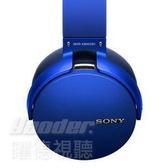 【曜德★送收納包布+收納盒】Sony MDR-XB950B1 藍 無線藍芽耳機 18HR續航