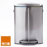 特力屋 方型緩降分類垃圾桶 40L 不鏽鋼