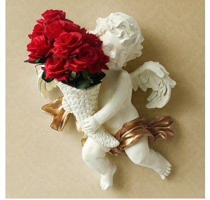 D034牆壁裝飾品含花