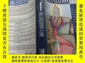 二手書博民逛書店THE罕見ORGANIZATION GAME(組織遊戲)外文版Y