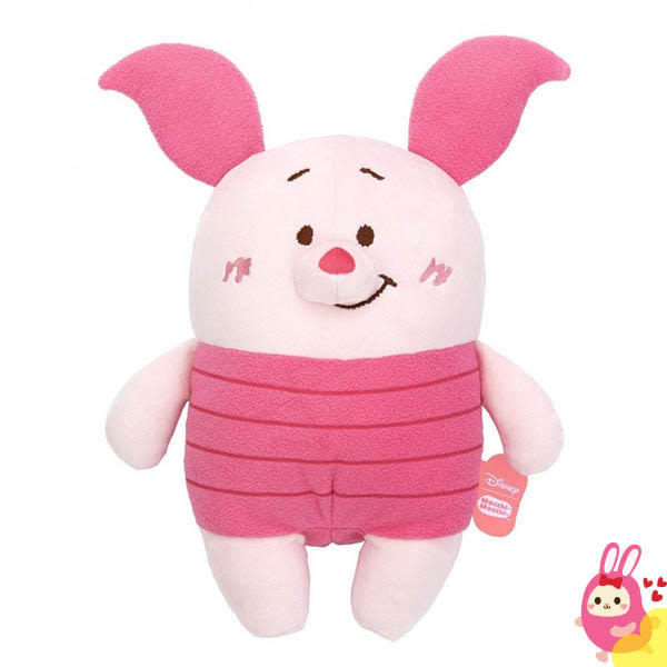Hamee 日本 迪士尼 Mocchi Mocchi 愛的抱抱 細緻絨毛 療癒娃娃 玩偶 抱枕 靠墊 (小豬) TA21282