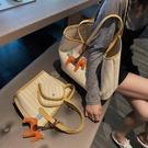 帆布單肩大包包女2020新款潮韓版百搭大容量簡約托特女手提洋氣包 【端午節特惠】