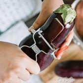 廚房削皮刀瓜果刀蔬菜刨子土豆去皮刨刀蘋果水果削皮器 盯目家