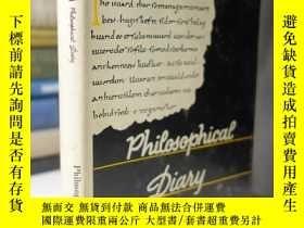 二手書博民逛書店達芬奇哲學日記罕見Leonardo Da Vinci Philosophical DiaryY354044 L