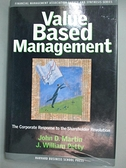 【書寶二手書T1/大學商學_YHV】Value Based Management-The Corporate..._Martin