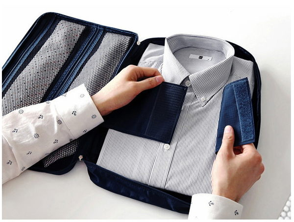 ☆.:*旅行貓【mol_pk020】(旅行收納/衣物收納袋)劉濤同款 多功能旅行領帶收納包