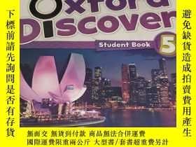 二手書博民逛書店Oxford罕見Discover: 5: Student Book【內有字跡劃線】Y179763 Lesley