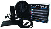 凱傑樂器 Sontronics STC-20 大震膜 電容式 麥克風 套裝組