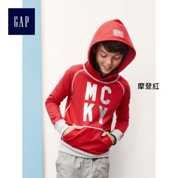 Gap男童 迪士尼寶貝系列米奇拼色連帽休閒外套 328024