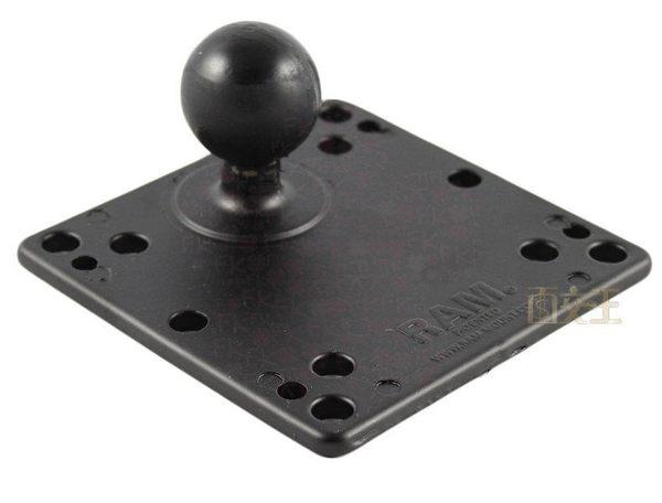 【尋寶趣】1.5吋球-顯示器 VESA 75?100mm 球座 電視顯示器支架 壁掛架 LCD掛牆架 RAM-246U
