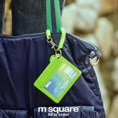 公交車卡套掛繩防盜胸卡立體創意正韓可愛銀行卡包【雙12 聖誕交換禮物】