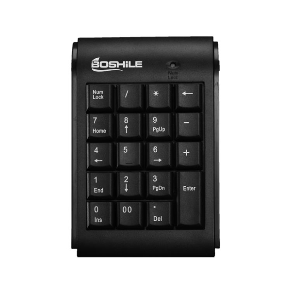 筆記本電腦數字鍵盤財務會計用USB有線外接小鍵盤輕薄迷你免切換【八折搶購】