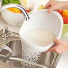 加大款廚房洗菜籃 濾水篩 加厚洗米器 (...