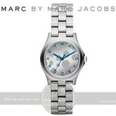 【南紡購物中心】MARC BY MARC JACOBS國際精品計Henry Glossy Pop 時尚腕錶-藍/銀/27mm MBM3269