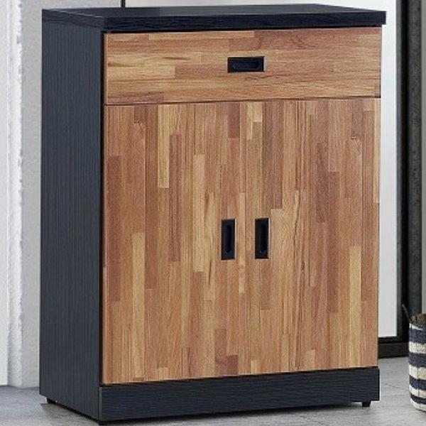 鞋櫃 FB-860-4 雙色積層木2.7尺鞋櫃【大眾家居舘】