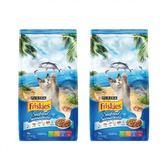 Friskies 喜躍海洋魚總匯配方貓乾糧-1.2kgX2包