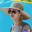 漁夫帽 遮陽帽 可折疊 遮陽帽 釣魚帽 太陽帽