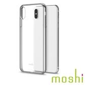{原廠公司貨}Moshi Vitros iPhone XS Max 超薄透亮保護外殼 - 銀白