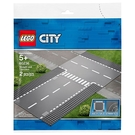 樂高積木 LEGO《 LT60236 》City 城市系列 - 直線道和 T 形路口╭★ JOYBUS玩具百貨