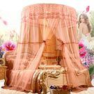 蚊帳 圓吊頂子落地1.8m床雙人家用2.2米公主風吸頂1新款 GB1040『優童屋』