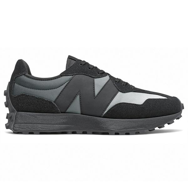 【現貨】New Balance 327 男鞋 女鞋 慢跑 休閒 復古 拼接 黑灰【運動世界】MS327SB