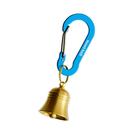[Mont-Bell] Key Carabiner Bell Nasu-Kan 5 S 銅鈴小鉤環 青藍 (1124340-CNBL)