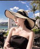 沙灘帽防曬遮陽出游度假百搭大沿涼帽太陽夏 【新品上新】