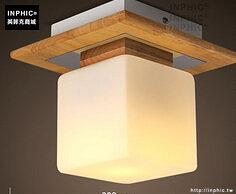 INPHIC- 日式貝殼方塊雲朵吸頂燈現代簡約兒童房客廳北歐創意臥室燈-B款_S197C
