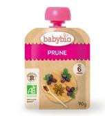 【Babybio】法國有機纖果泥 (有機純鮮黑棗纖果泥 ) 90g