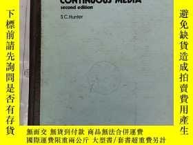 二手書博民逛書店mechanics罕見of continuous media s