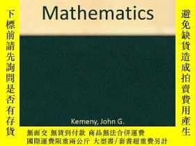 二手書博民逛書店Introduction罕見To Finite MathematicsY255562 John G. Keme