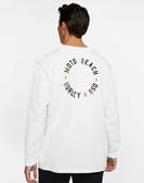 Hurley  M RSD MOTO BEACH LS WHITE  長袖T恤-白(男)