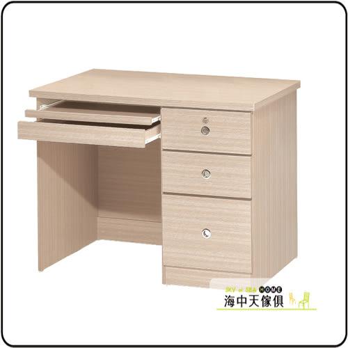 {{ 海中天休閒傢俱廣場 }} F-21 摩登時尚 電腦桌書桌系列 241-8 白橡3.5尺電腦書桌